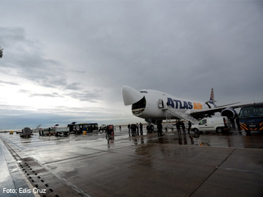 Aeroporto de Viracopos (SP) recebe maior Boeing em operação no mundo