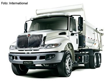 Governo Federal compra 75 caminhões International