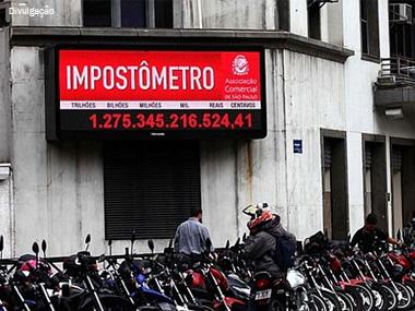 Impostos brasileiros sobem mais de 3% em 10 anos