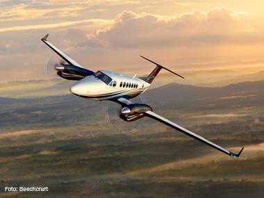 Beechcraft fecha 2º trimestre com aumento de 75% nas vendas