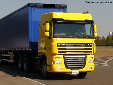 DAF comemora 2º ano de produção do caminhão XF105 no Brasil