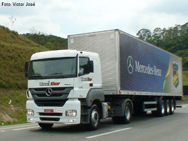 Portal Transporta Brasil avalia economia e desempenho do Mercedes Axor 2036 4×2