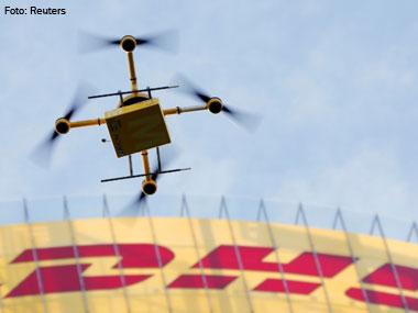DHL realiza teste com drones para entregas em lugares de difícil acesso