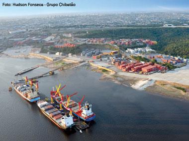 Movimentação de cargas no Amazonas cresce 9,87% em 2013