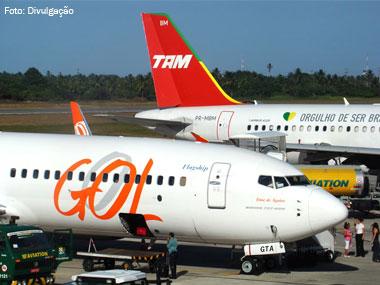 TAM e Gol estão entre as dez empresas de aviação mais inseguras do mundo