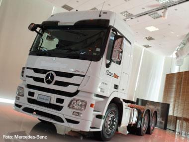 Mercedes-Benz amplia condições do BNDES Finame para o extrapesado Actros