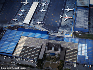 Aeroporto de Guarulhos (SP) passa a contar com Conhecimento Eletrônico de Carga