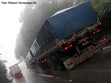 Dois terços dos acidentes no transporte rodoviário de cargas estão relacionados a falhas humanas