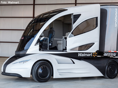 """Walmart desenvolve projeto de caminhão híbrido """"super flex"""""""