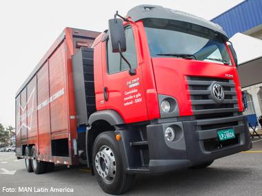 Coopercarga operará com caminhão 100% movido a GNV
