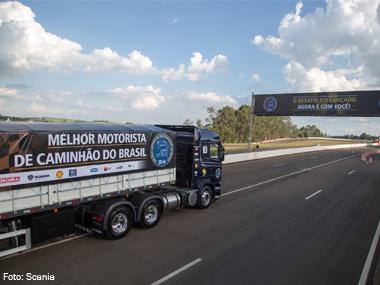 Scania abre inscrições da competição Melhor Motorista de Caminhão do Brasil 2014