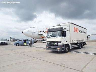 DB Schenker transporta carga da China para o Brasil integrando modais ferroviário, rodoviário e aéreo