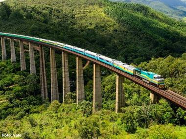 Vale inicia operação do novo trem de passageiros na Estrada de Ferro Vitória a Minas