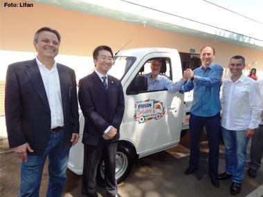 Lifan entrega minitruck para instituição de Sorocaba (SP) por meio de campanha solidária