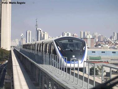 São Paulo inaugura trecho do primeiro monotrilho do Brasil