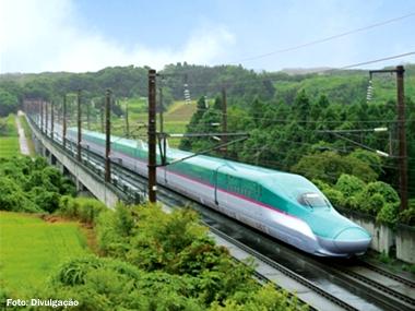 Confira os trens-bala mais velozes do mundo