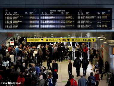 Mais de 95 milhões de passageiros voaram pelas companhias aéreas do Brasil em 2014