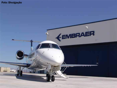 Embraer encerra 2º trimestre com R$ 405,5 milhões de lucro