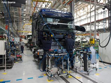 Scania aprimora logística de suprimentos e prevê economia de 5% ao ano