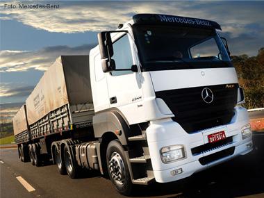 Mercedes-Benz inclui freio a tambor como item de série para extrapesados Axor e Actros