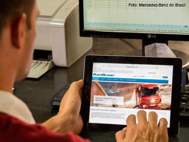 Mercedes-Benz turbina serviços de telemática e rastreamento de caminhões em parceria com a Zatix