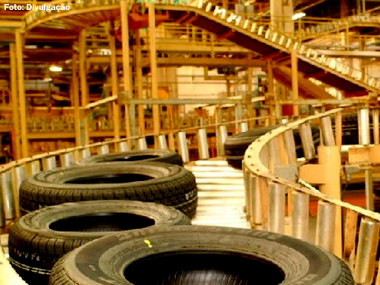 Venda de pneus fabricados no Brasil cai 3,4% no 1º bimestre