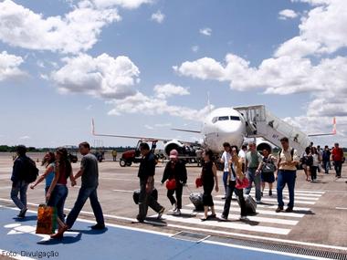 Transporte aéreo de passageiros cresce 4,1% em fevereiro e acumula 17 meses de aumento