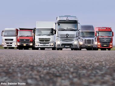 Daimler quer testar caminhão autodirigível ainda este ano