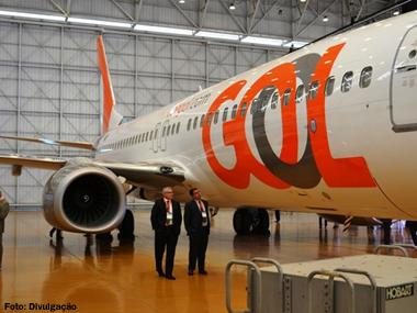 Gol muda de logomarca, inaugura aeronave e oferece novos serviços de bordo