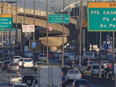 Entra em vigor redução de velocidade nas marginais Pinheiros e Tietê, em SP