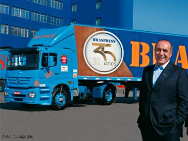 Braspress firma parceria com o TruckPad, o 1º aplicativo de carga do Brasil