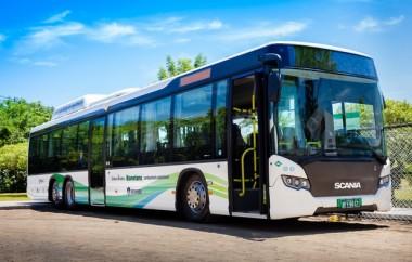 Ônibus da Scania usa lixo como combustível