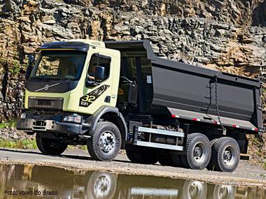 Volvo faz lançamento de peso no segmento off-road com o novo VM de 32t e mira novos mercados
