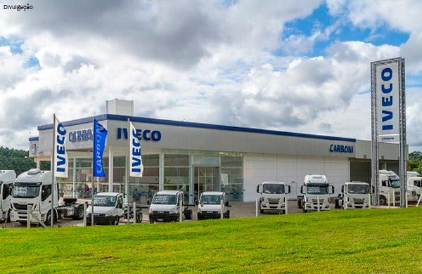 A Carboni está de portas abertas aos clientes Iveco em terras catarinenses