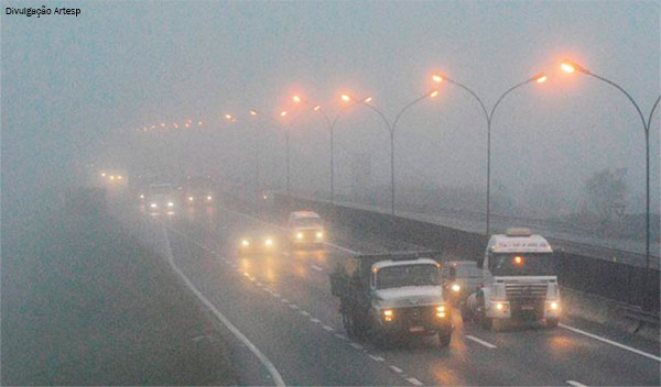 Inverno: saiba como lidar e onde estão os pontos de neblina nas rodovias paulistas