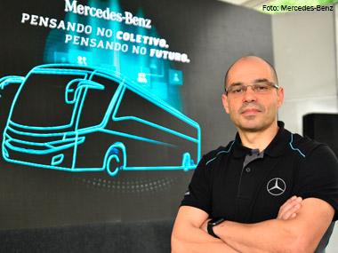Mercedes-Benz enfatiza segurança e tecnologia na FetransRio