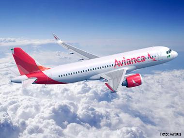 Avianca passa a utilizar mais um A320neo