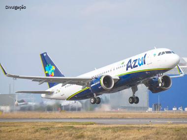 Azul inaugura vôo com A320neo em Boa Vista (RO)