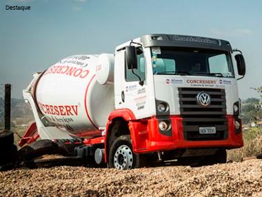 Concreserv recebe lote de 40 caminhões da MAN Latin America