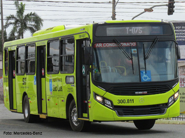 Mercedes-Benz fornece 148 novos ônibus para São Luís (MA)