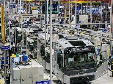 Volvo investirá R$ 1 bi na América Latina até 2019