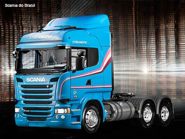 Scania celebra 60 anos de Brasil com versão limitada dos caminhões R 440 e R 480