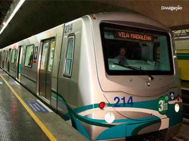 Governo de SP estuda privatizar linha verde do metrô