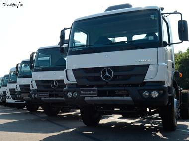 Mercedes-Benz faz super venda de caminhões para o setor sucroalcooleiro