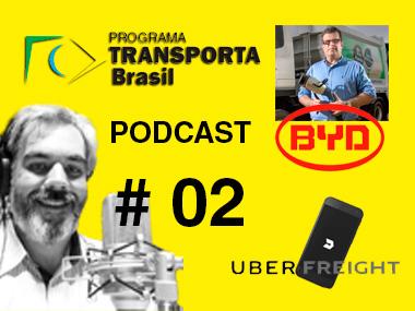 Uber Freight, caminhões elétricos e frotas conectadas: Programa Transporta Brasil podcast#2