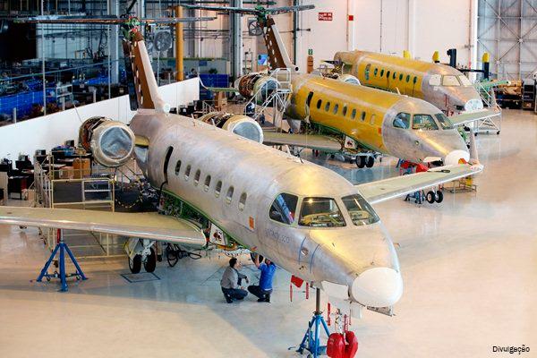 Embraer encerra 1º trimestre com 25 aeronaves entregues