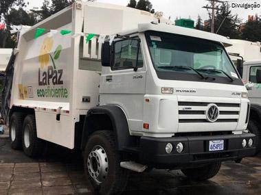 MAN Latin America vende 48 caminhões para prefeitura de La Paz, na Bolívia