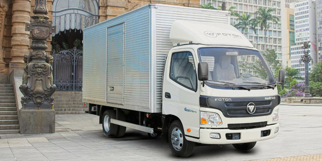 Foton inicia vendas dos caminhões Minitruck e Citytruck