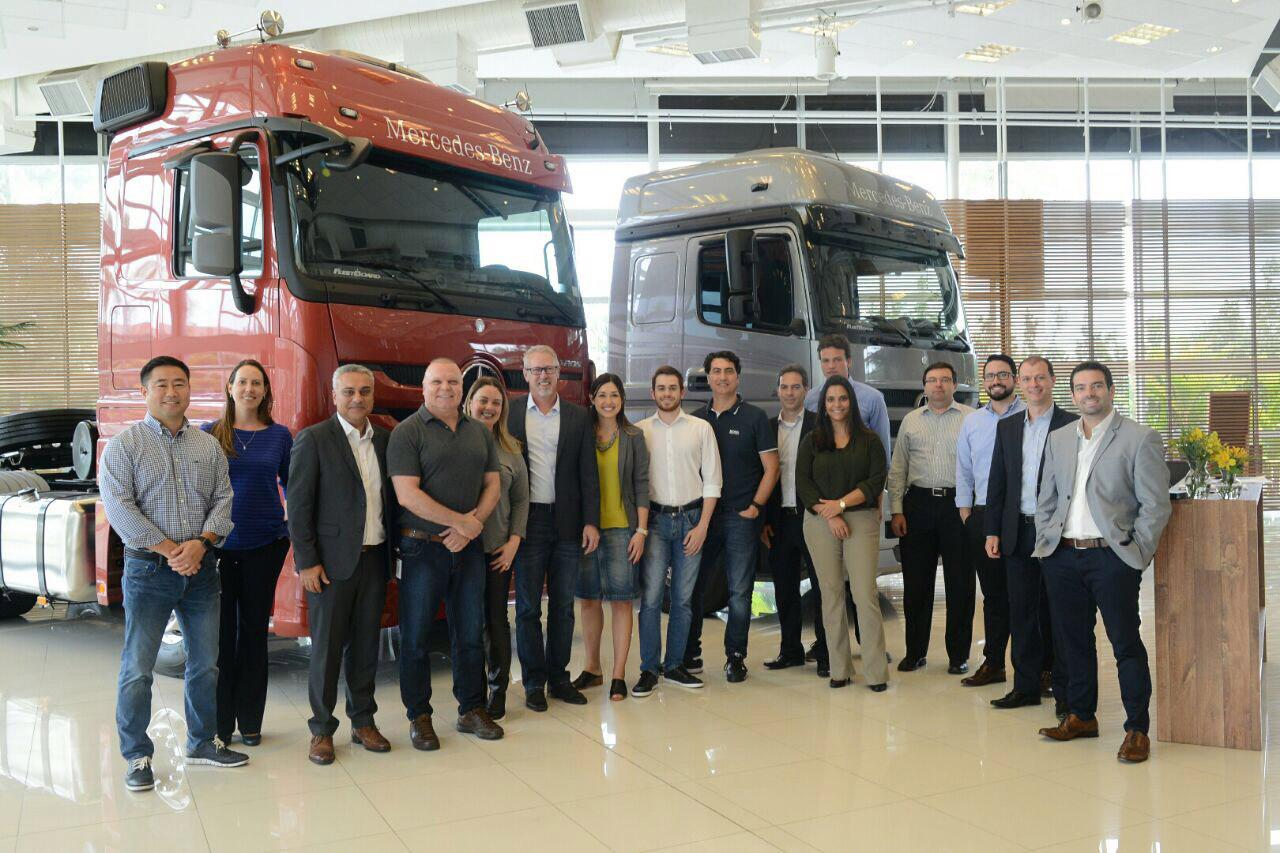 Mercedes-Benz vira sócia do TruckPad