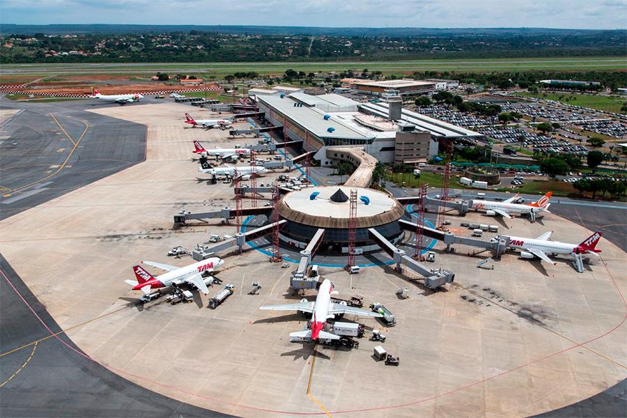 Aeroporto de Brasília (DF) ganha maior capacidade no sistema de pistas